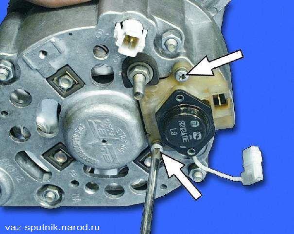 Фото №23 - как проверить напряжение на генераторе ВАЗ 2110